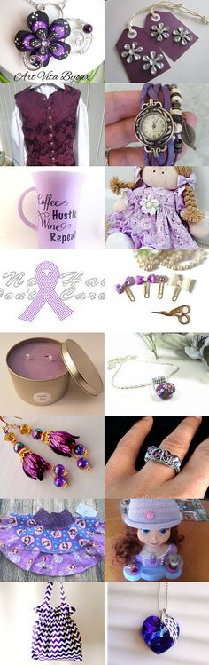 Purple Majesty  by Kathleen Fields on Etsy--Pinned+with+TreasuryPin.com