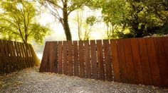 Cor-Ten fence by RCR in Spain
