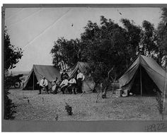 Christmas Day in camp | por The Field Museum Library