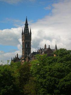 Glasgow University Spire - Glasgow. #glasgow2014 #glasgow #scotland www.glasgow2014.com