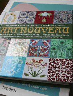 Azulejos Art Nouveau [] Art Nouveau tile designs