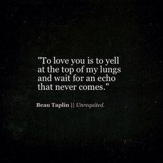 B E A U   T A P L I N  #beautaplin #poems