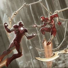 This will be such an AMAZING moment!!  DOUBLE TAP IF YOU AGREE!  #spiderman #ironman #civilwar #spidey #avengers #avenger #tonystark #peterparker #awesome #beast #boss #badass #epic #epiccomicpics #dope #sick #geek #nerd #art #comicbooks #comics #comix #superheroes #superhero #marvel #marvelheroes #marveluniverse #marvelcomics by devilzsmile.com #devilzsmile