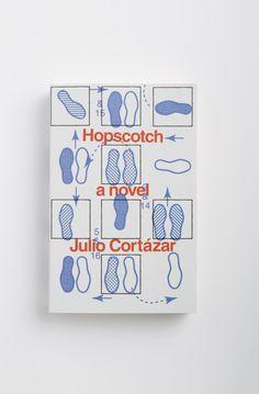 design by Peter Mendelsund  Hopscotch by Julio Cortázar  http://grafiktrafik.tumblr.com