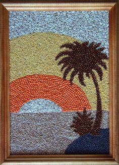 veselye-zanyatiya Diy Arts And Crafts, Kids Crafts, Paper Crafts, Mosaic Crafts, Mosaic Art, Creative Artwork, Creative Crafts, Art Drawings For Kids, Art For Kids