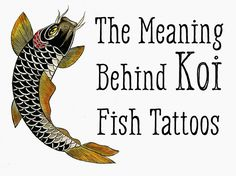 The koi fish has profound meaning, according to Japanese legend. This meaning…