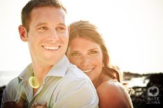 This is not only an awesome pose, but also a beautiful couple! NAte and Jena such great photography!