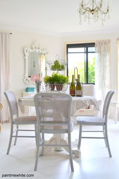Love all the white in this room