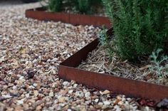 Metal landscape edging is the little black dress of a garden: elegant, strong yet understated, tailored and timeless. A long-time design secret of professional landscapers, metal has edged its way into the amateur home garden to offer a clean-cut and practical solution to keep plants and materials in place.