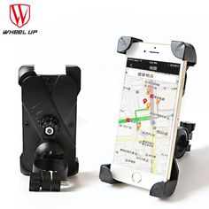 WHEEL UP Bicycle Bike Bag Phone Holder Handlebar Clip Stand Mount Bracket For Smartphone GPS Iphone Bags Cycling Accessories