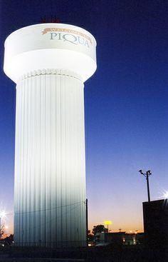 Piqua, Ohio Water Tower - 35mm Film