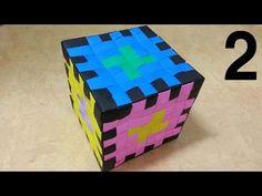 778 종이접기 (픽셀 큐브) 2 - 2 Pixel Cube Origami 색종이접기  摺紙 折纸 оригами 折り紙  اوري... Origami Cube, Paper Crafts, 1 Pixel, Toys, Cubes, Youtube, Design, Videos, Manualidades