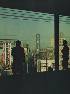 View of Tokyo, 1951. Photo by Werner Bischof