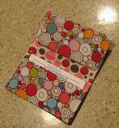 Cute gift idea - business card holder.