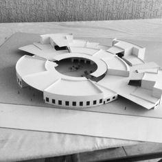 Arquitectura radial maqueta