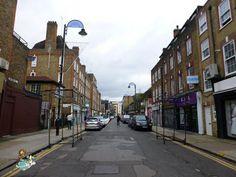 Whitechapel Streets in London (UK)
