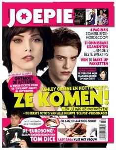 (2010) BELGIAN MEDIA: Adam Lambert (small mention) on the cover of 'Joepie' (June 2010)