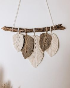 Macrame Plant Hanger Patterns, Macrame Wall Hanging Diy, Macrame Patterns, Yarn Projects, Crochet Projects, Driftwood Crafts, Estilo Boho, Family Business, Nature Inspired
