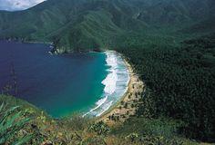 Cata Bay, Aragua state-Venezuela