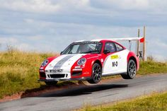 Utterly cool. Tuthill Porsche homologated a 997 GT3 for the World Rally Championships.