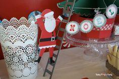 Sweet table Merry Christmas - Arbre de noël Toyota - www.babypopsparty.com/en-image Decoration, Advent Calendar, Toyota, Holiday Decor, Party, Image, Christmas Trees, Children, Noel