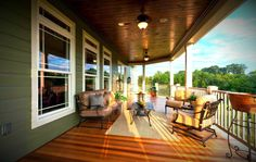 Back porch view Arts and Crafts style 2011 Home-A-Rama Best of Show Winner #ownalandmark #projectdreamhouse