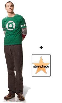 Dr Sheldon Cooper Lifesize Cardboard Cutout / Standee (Jim Parsons The Big Bang Theory) - Includes 8X10 (25X20Cm) Star Photo :: ztyle – Außergewöhnliche Geschenk-Ideen und Gadgets