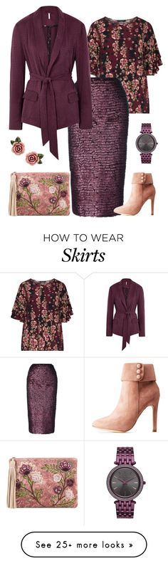 """n.t."" by steffilovesyou88 on Polyvore featuring Manon Baptiste, Michael Kors, Free People, Dolce&Gabbana, Hot Kiss and Sam Edelman"