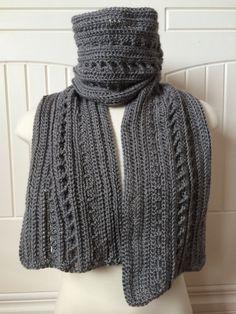 Crochet Scarf Pattern - Backwoods Boyfriend Scarf - 2-in-1 Men's Scarf Pattern…