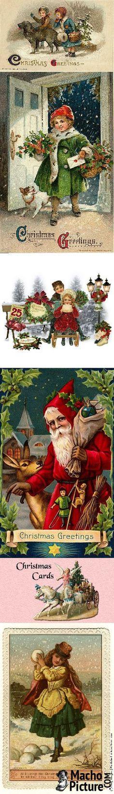 Victorian christmas greetings - 7 PHOTO!