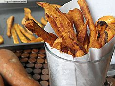 Baked Sweet Potato Fries- gluten free
