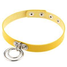 O-Round Collar Choker Necklace