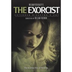 """A great poster from the classic horror movie The Exorcist! Linda Blair as """"Regan"""" will make your head spin! Need Poster Mounts. Best Horror Movies, Classic Horror Movies, Great Movies, Exorcist Movie, The Exorcist 1973, Film Movie, Scary Films, Linda Blair, Image Film"""