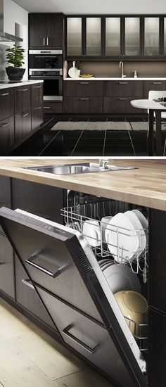 You deserve a kitchen that's as delicious as your cooking! IKEA kitchen appliances integrate seamlessly into SEKTION cabinets and are energy-efficient!