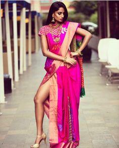 Beautiful Girl Indian, Beautiful Saree, Beautiful Indian Actress, Indian Photoshoot, Saree Photoshoot, Indian Silk Sarees, Indian Beauty Saree, Banarasi Sarees, Patiala