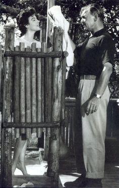 Gardner and Gable  Mogambo