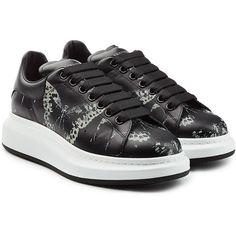Men's Platform Leather Sneakers j29fis