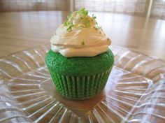 Finger Lime Cupcakes