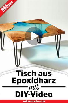 Anleitung #Bauen #Epoxidha #EpoxidharzTisch #GratisAnleitung