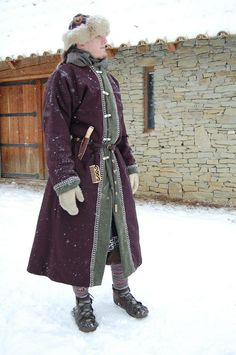 Rus/Norse.  Rus hat, maybe coat.  Norse pants & winnengas.  Shoes inaccurate, but shoes are the hardest part sometimes...
