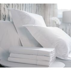 The Hotel Classic Luxury Bed Linen. Egyptian cotton linen. French Bedroom linen. Wedding gift list.