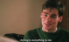 Neil Perry was so precious. why he had to kill himself 😔 Tv Quotes, Movie Quotes, Carpe Diem, Movies Showing, Movies And Tv Shows, Peter Weir, Robert Sean Leonard, Oh Captain My Captain, Cinema