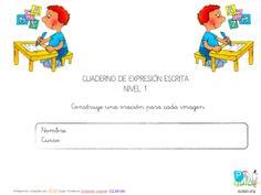 Aula PT: Cuaderno De Expresión Escrita Nivel 1