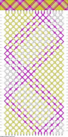 20 strings 40 rows 6 colors
