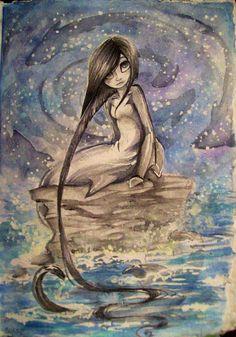 Sharpie61 on Tumblr | Sharpie91, Mermaid drawings, Art |Half Human Half Shark
