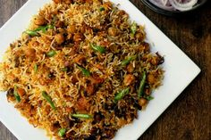 how my plan failed! Greek Recipes, Rice Recipes, Vegetarian Recipes, Great Dinner Recipes, Biryani, Rice Dishes, One Pot Meals, Fried Rice, Stew