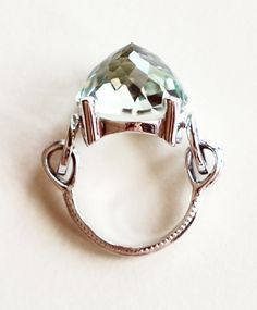 Eleonore Amethyst Ring by Anna Sheffield