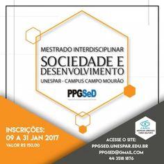 Unespar: últimos dias para inscrição no mestrado Sociedade e Desenvolvimento