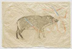 Everywhere (Little pig 2010) Kiki  Smith