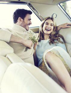 Lily James & Richard Madden